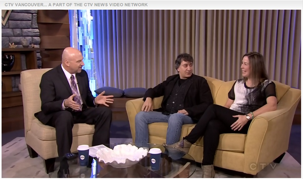 Preview of Comic Vision 2015 with Dr. Briar Sexton on CTV Morning news