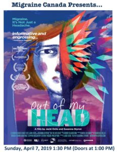 Upcoming Event: Out of My Head – a Migraine Canada Presentation
