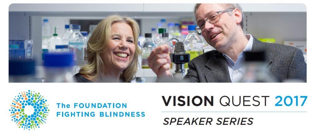 VISION QUEST 2017 – SPEAKER SERIES